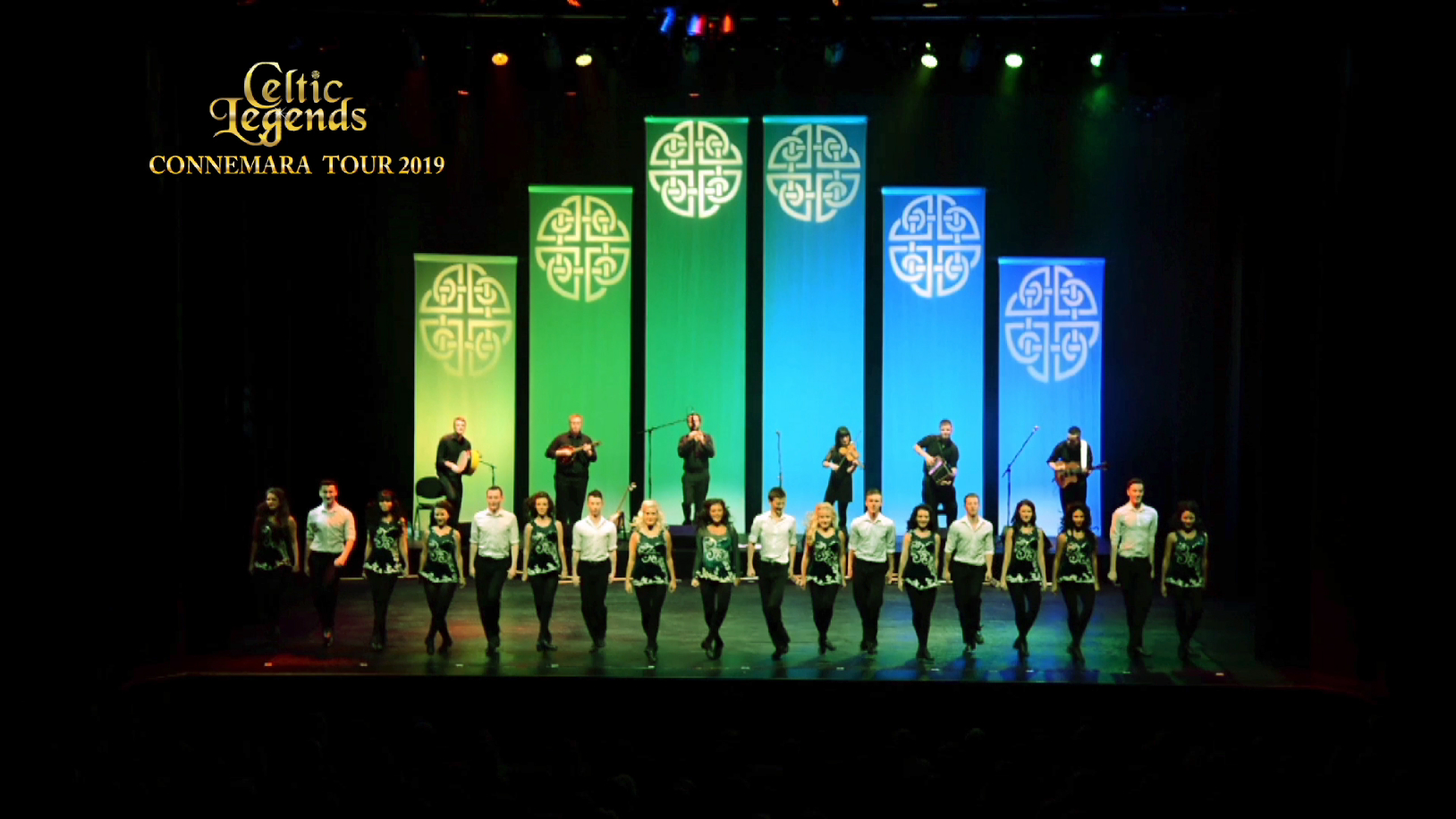 spot tv celtic legends spectacle danse ilrandaise captation multi cameras