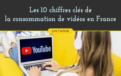 Les 10 chiffres clés de la consommation de vidéos en France