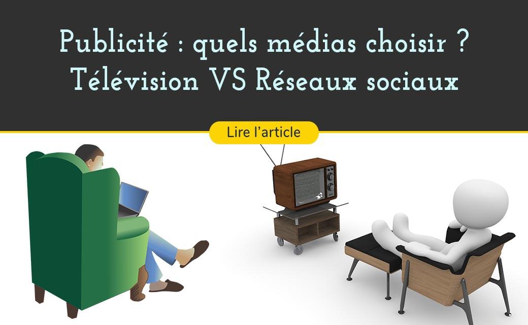Publicité, où doit-on diffuser ses campagnes publicitaires : Télévision VS Facebook & YouTube