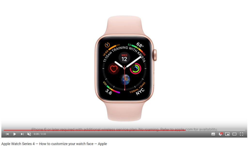 tuto apple watch series 4