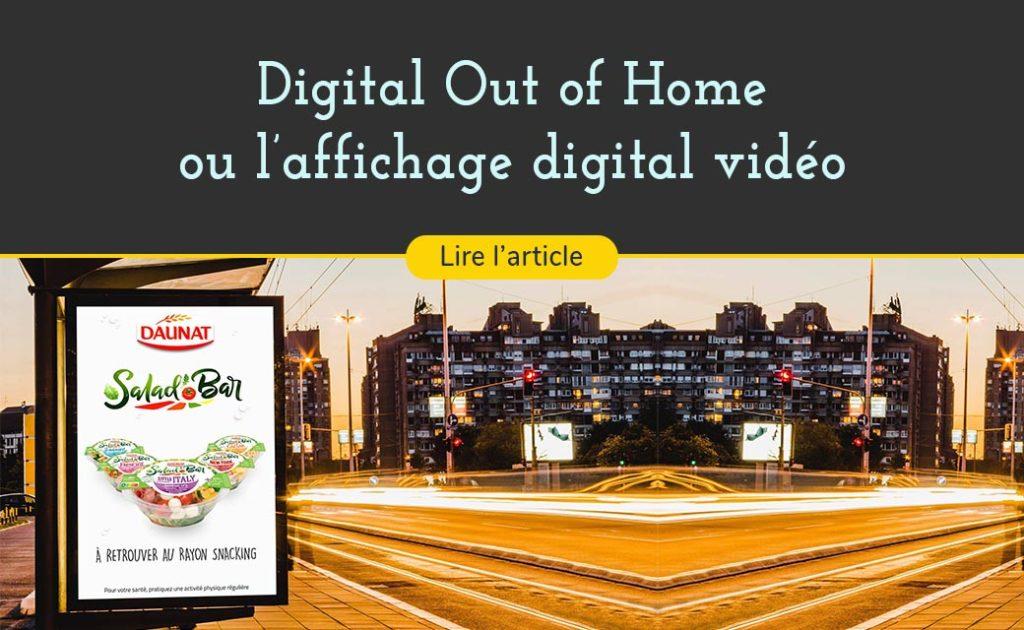 les panneaux d affichage digital sont partour et vos spots publicitaires s affichent dessus