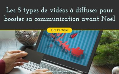 5 idées de vidéos pour booster sa communication avant Noël