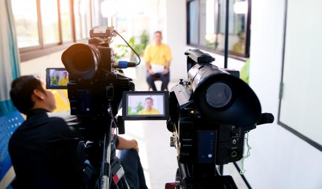 interview dirigeant entreprise vidéo corporate noël