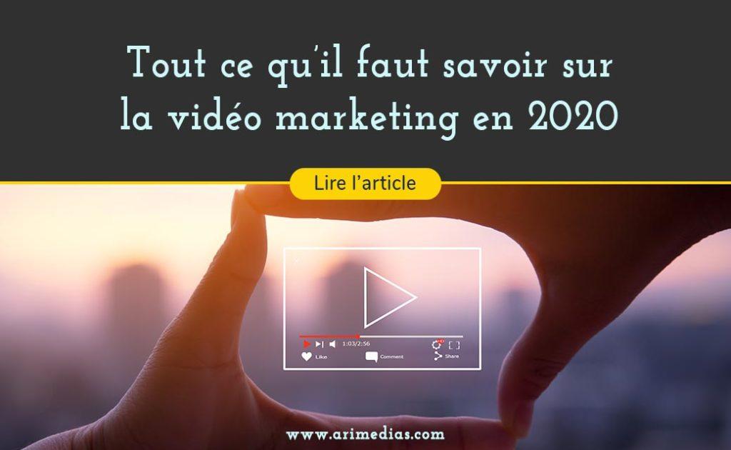 Les tendances de la vidéo marketing en 2020 arimédias