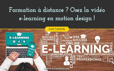 Formation à distance ? Osez la vidéo e-learning en motion design !