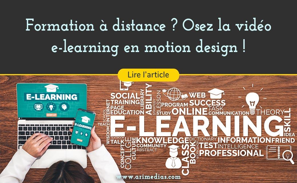 Formation à distance ? Osez la vidéo e-learning en motion design !