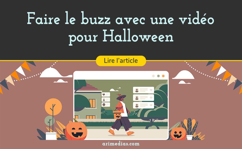Faire le buzz avec une vidéo pour Halloween