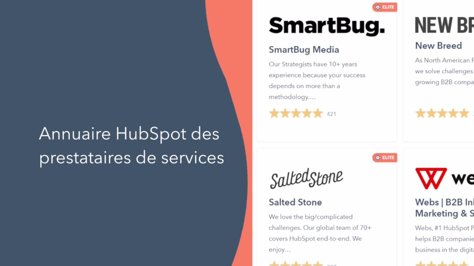 video produit hubspot programme partenaires solutions