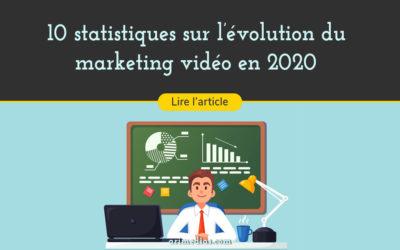 10 statistiques sur l'évolution du marketing vidéo en 2020