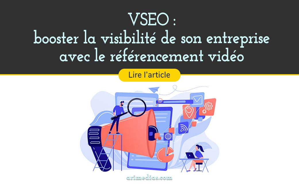 VSEO referencement video arimedias