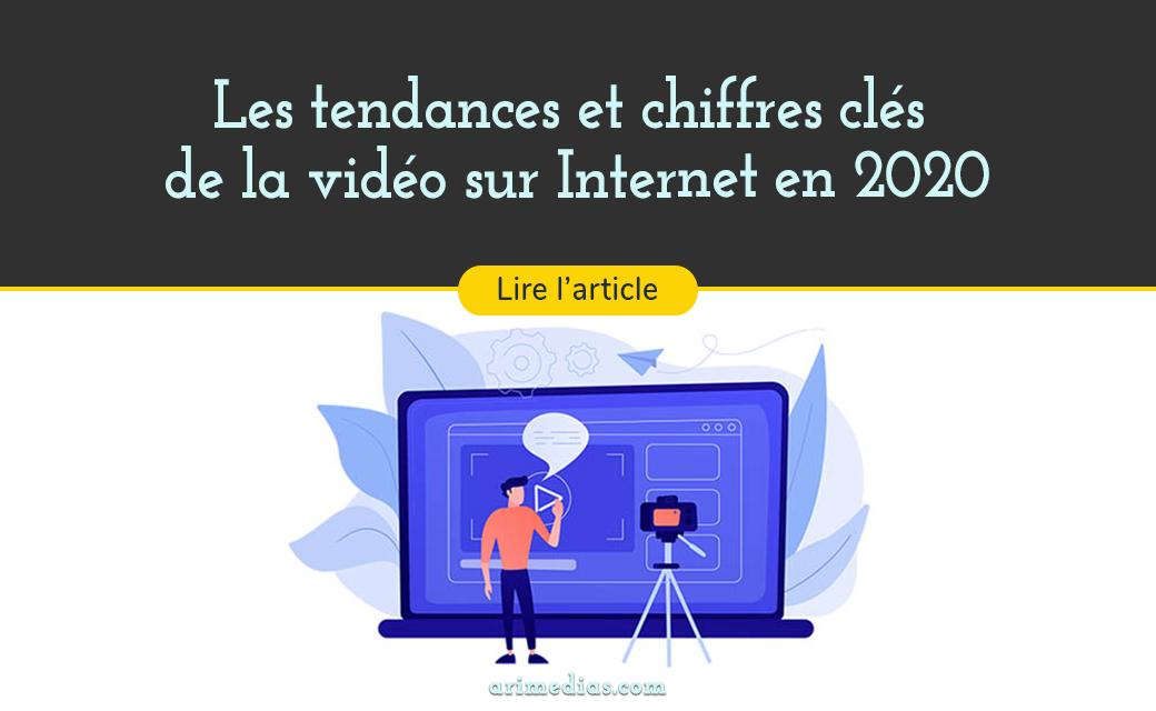tendances et chiffres video internet 2020
