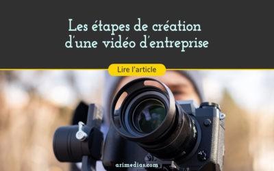 Les étapes de la création d'une vidéo d'entreprise