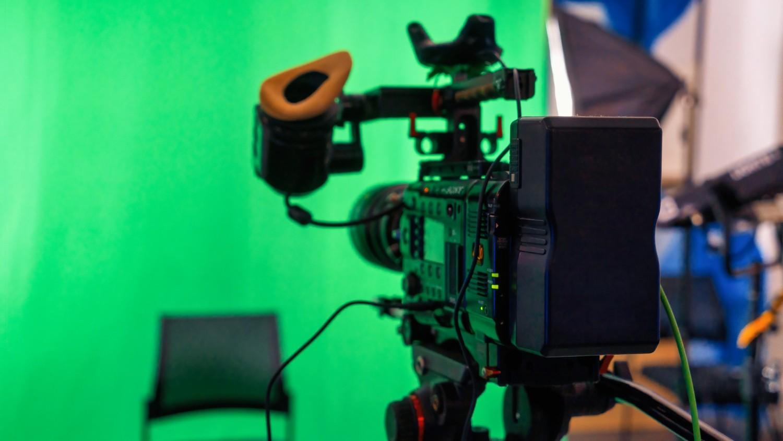 vidéo professionnelle fond vert studio